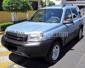 Foto venta Auto usado Land Rover Freelander 2.5L S Qc (2002) color Azul Metalizado precio $70,000