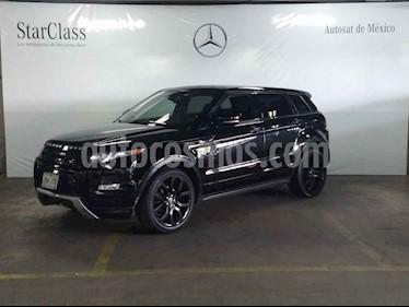 Land Rover Range Rover Evoque Dynamic usado (2013) color Negro precio $379,000