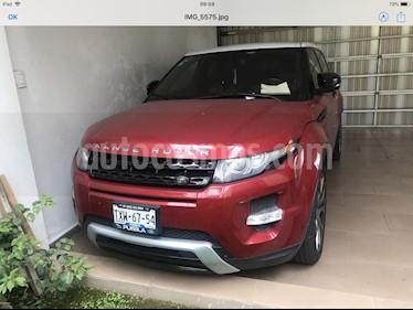 Land Rover Range Rover Evoque Dynamique usado (2013) color Rojo Firenze precio $390,000