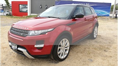 Foto venta Auto usado Land Rover Range Rover Evoque Dynamique (2015) color Rojo Firenze precio $529,000