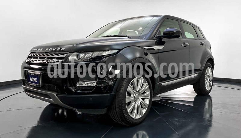 Land Rover Range Rover Evoque Prestige usado (2015) color Negro precio $599,999