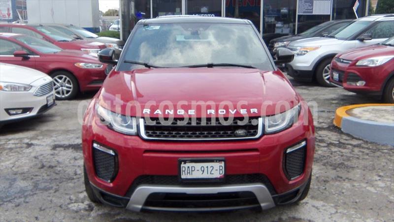 Land Rover Range Rover Evoque SE DYNAMIC 5 PUERTAS usado (2016) color Rojo precio $530,000