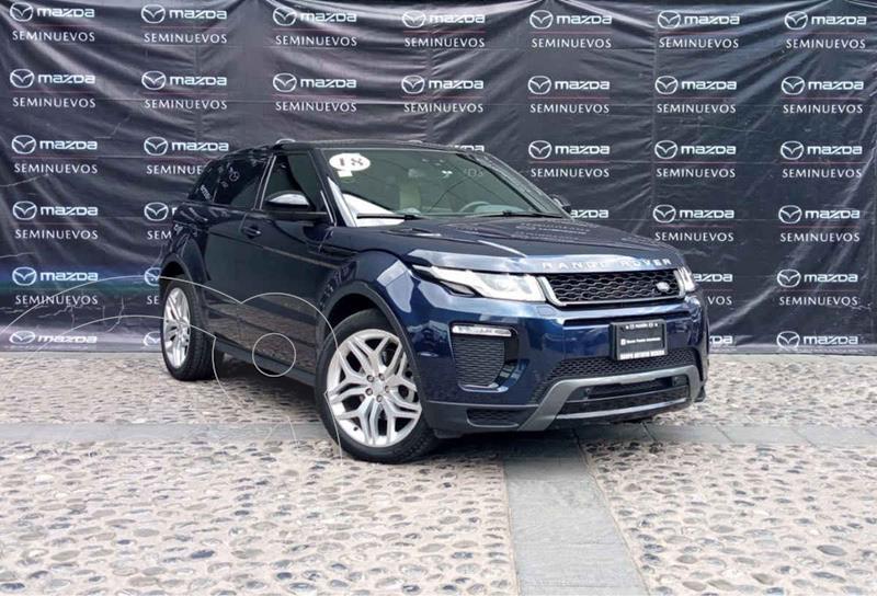 Land Rover Range Rover Evoque Dynamic usado (2018) color Azul precio $599,000
