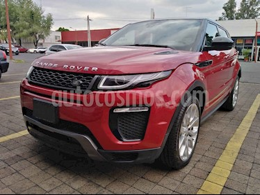Land Rover Range Rover Evoque HSE Dynamic usado (2017) color Rojo precio $689,000