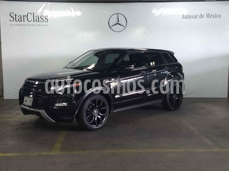 Land Rover Range Rover Evoque Dynamique usado (2013) color Negro precio $349,000