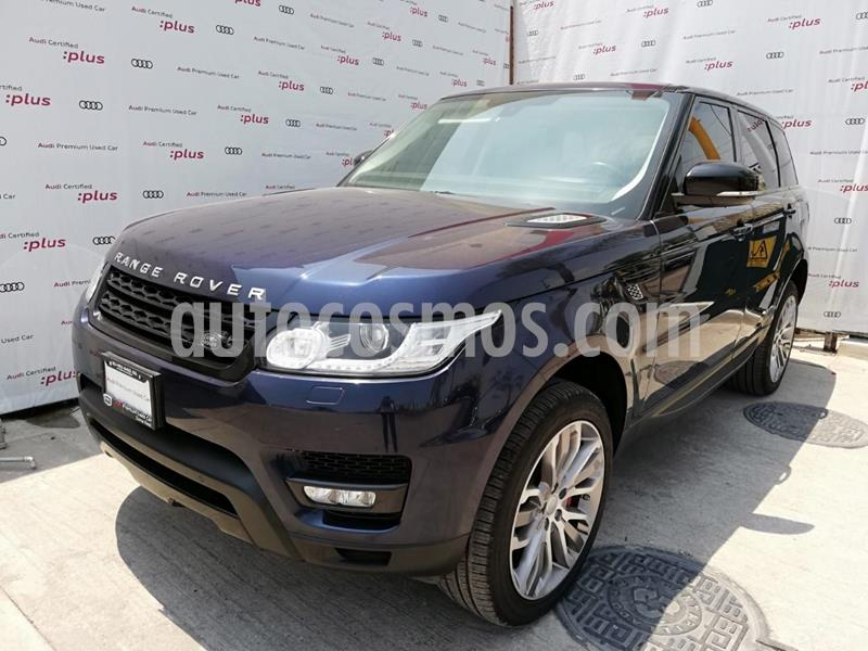 Land Rover Range Rover Sport HSE 5.0 usado (2015) color Azul precio $789,000