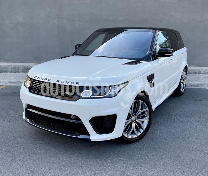 Land Rover Range Rover Sport SVR usado (2017) color Blanco precio $1,850,000