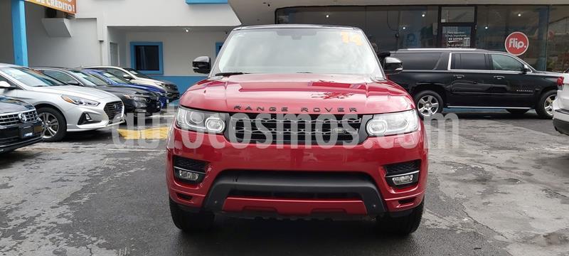 Land Rover Range Rover Sport HSE 5.0 usado (2014) color Rojo precio $725,000