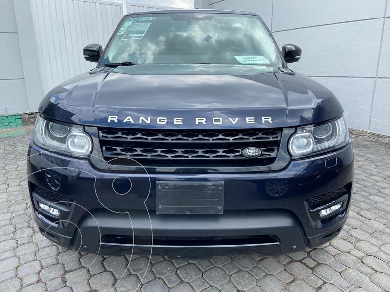 Land Rover Range Rover Sport HSE 5.0 usado (2014) color Azul Marino precio $599,900