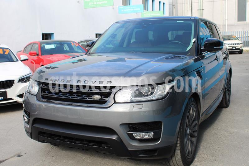 Land Rover Range Rover Sport HSE 3.0 usado (2017) color Gris Oscuro precio $1,049,000