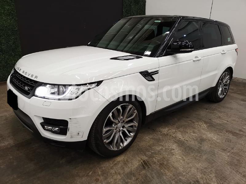 Land Rover Range Rover Sport HSE 3.0 usado (2016) color Blanco Fuji precio $757,999