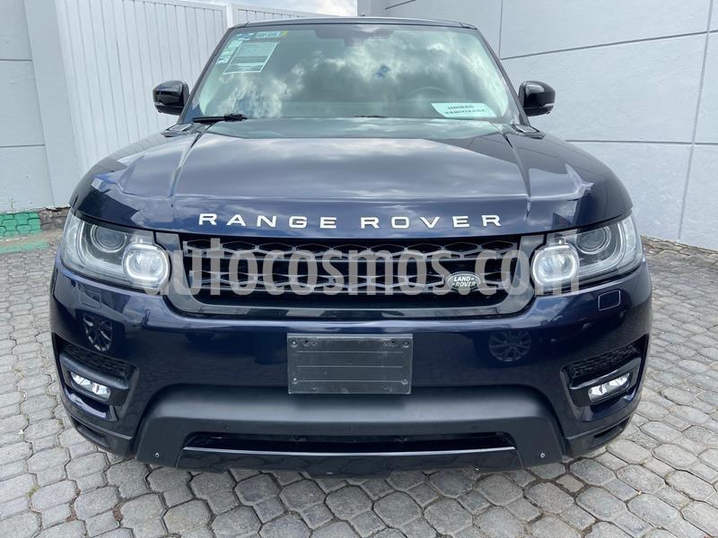 Land Rover Range Rover Sport HSE 5.0 usado (2014) color Azul Marino precio $665,000