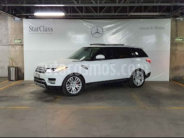 Land Rover Range Rover 5p Supercharged V8/5.0/T Aut Dyna/Pack usado (2014) color Blanco precio $799,000
