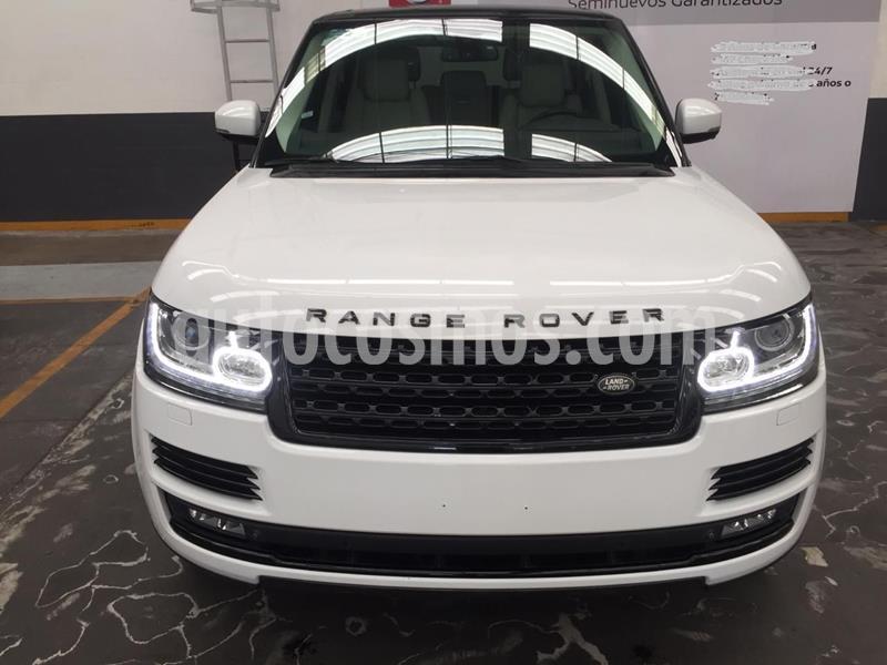Land Rover Range Rover Vogue SE usado (2015) color Blanco precio $1,399,900