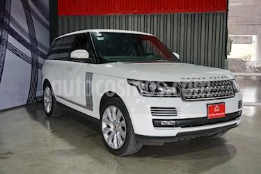 Foto venta Auto usado Land Rover Range Rover Vogue SE (2015) color Blanco Fuji precio $1,620,000