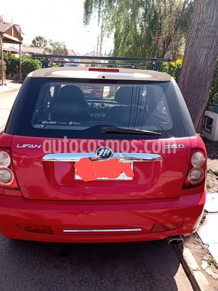 Lifan 320 1.3L GLX usado (2013) color Rojo precio $2.600.000