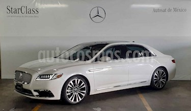 Lincoln Continental 3.0L usado (2018) color Blanco precio $999,000
