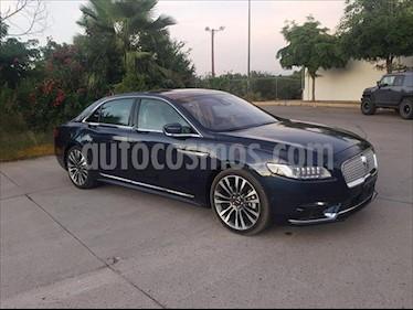 Lincoln Continental 3.0L usado (2018) color Azul Marino precio $750,000