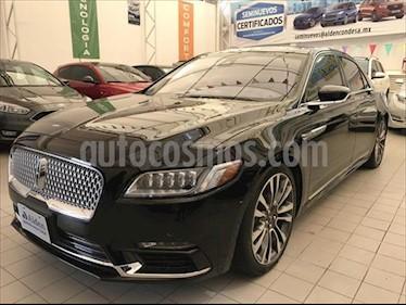 Lincoln Continental RESERVE usado (2018) color Negro precio $875,000