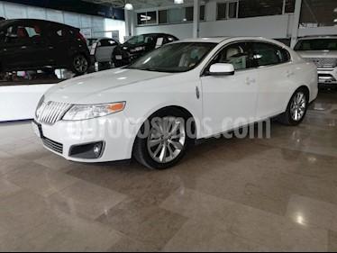 Foto venta Auto usado Lincoln MKS 3.7L Aut Paquete Navegacion  (2010) color Blanco precio $199,900