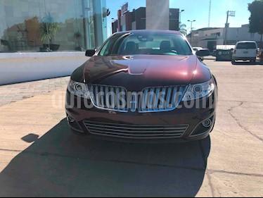 Foto venta Auto usado Lincoln MKS 3.7L Aut (2009) color Rojo Sangria precio $250,000