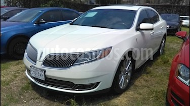 Lincoln MKS 3.7L Aut usado (2013) color Blanco Chocolate precio $275,000