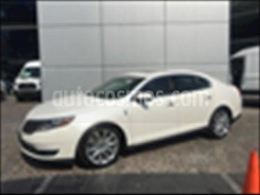 Foto venta Auto usado Lincoln MKS AWD ECOBOOST (2014) color Blanco precio $350,000
