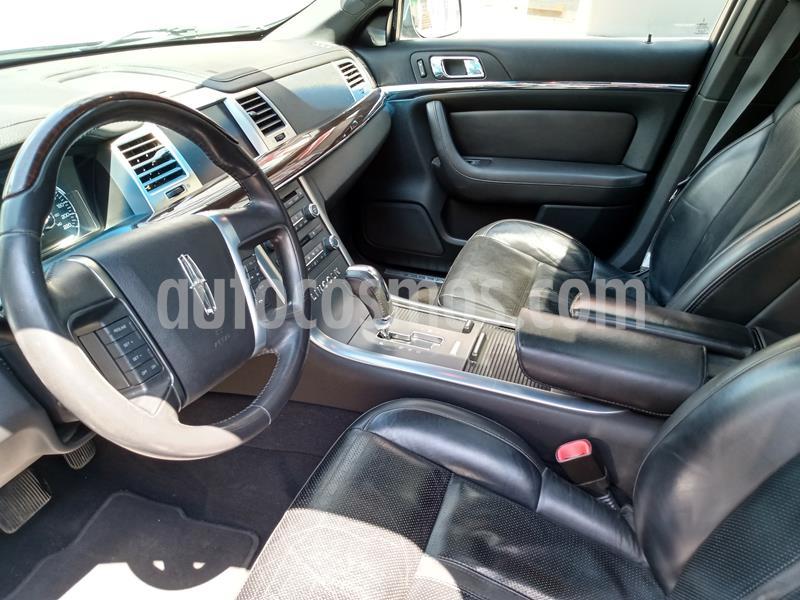 Lincoln MKS 3.7L Aut Paquete Navegacion  usado (2009) color Negro precio $117,500
