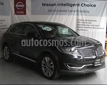 Foto venta Auto usado Lincoln MKX 2.7L 4x4 (2016) color Negro precio $435,000
