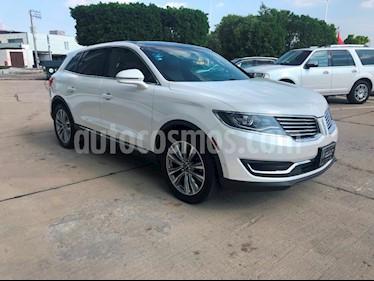 Lincoln MKX 2.7L 4x4 usado (2016) color Blanco Platinado precio $499,000