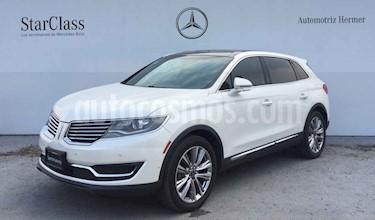 Lincoln MKX 3.5L 4x2 usado (2016) color Blanco precio $484,900