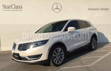 Lincoln MKX 3.5L 4x4  usado (2017) color Blanco precio $499,900