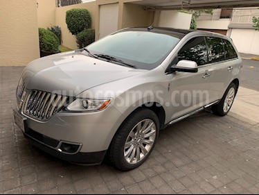 Foto venta Auto usado Lincoln MKX 3.7L 4x2 Navegacion (2012) color Plata Estelar precio $240,000