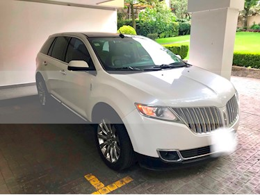 Lincoln MKX 3.7L 4x4 usado (2013) color Blanco precio $270,000