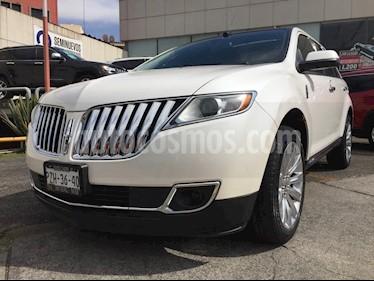 Foto venta Auto usado Lincoln MKX 3.7L 4x4 (2014) color Blanco precio $299,000