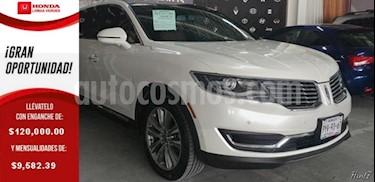 Foto venta Auto usado Lincoln MKX 5p Reserve V6/2.7/T Aut (2016) color Blanco precio $409,000