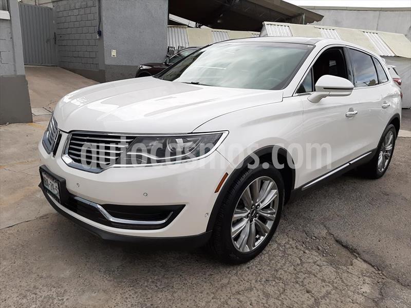 Lincoln MKX RESERVE usado (2016) color Blanco precio $430,000
