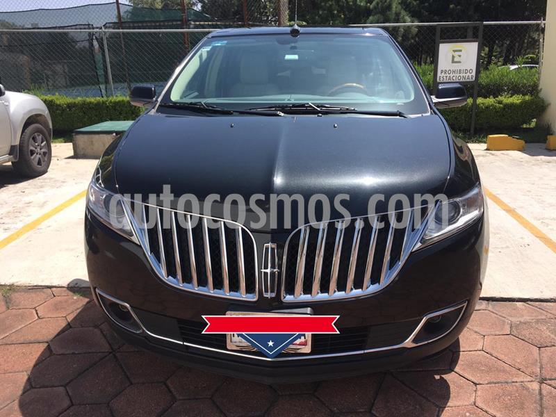 Lincoln MKX 3.7L 4x2 Navegacion usado (2013) color Negro precio $270,000