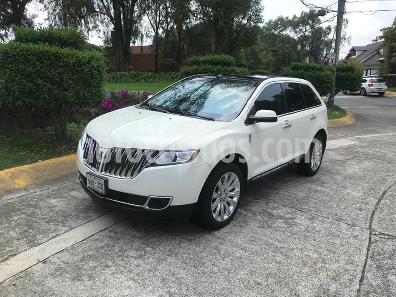 Lincoln MKX 3.5L 4x2  usado (2013) color Blanco precio $259,000