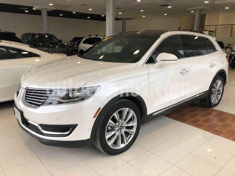 Foto Lincoln MKX 2.7L 4x4 usado (2016) color Blanco precio $415,000