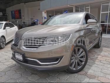 Lincoln MKX 2.7L 4x4 usado (2016) color Gris Piedra precio $409,000