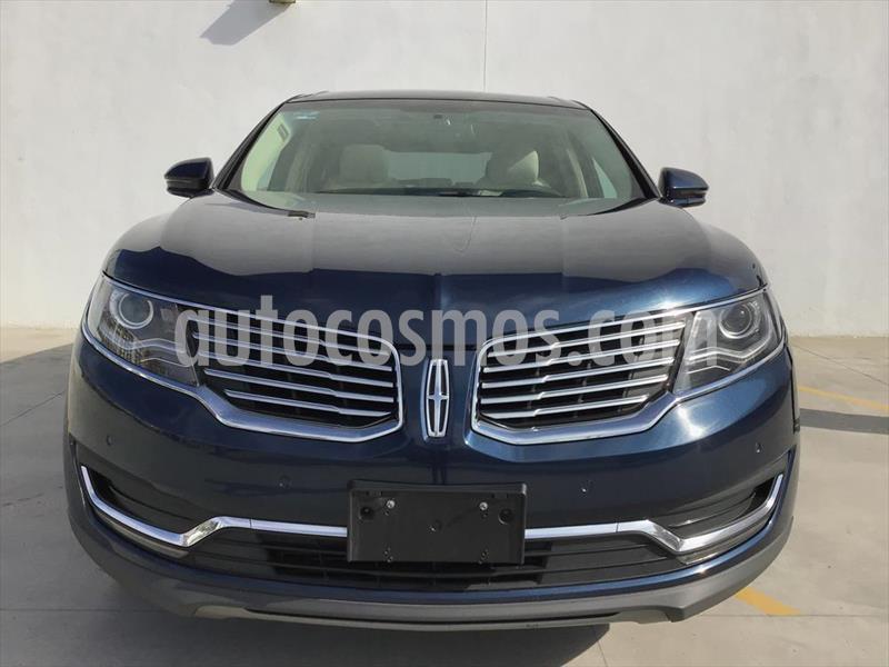 Lincoln MKX RESERVE usado (2017) color Azul Marino precio $570,000