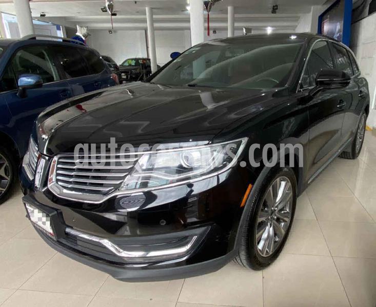 Lincoln MKX 3.5L 4x4  usado (2017) color Negro precio $520,000