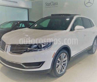 Lincoln MKX 5p Reserve V6/3.5/T Aut AWD usado (2016) color Blanco precio $390,000