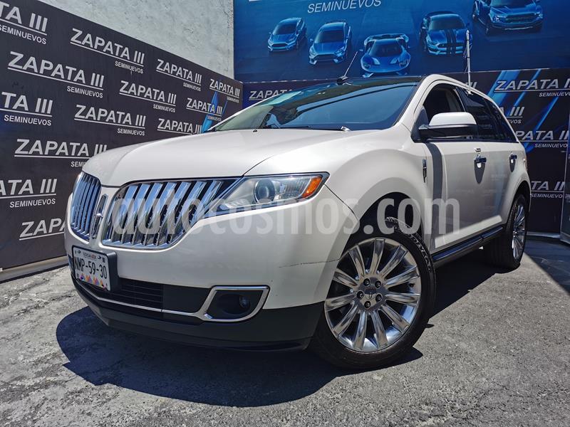 Lincoln MKX 2.7L 4x4 usado (2014) color Blanco Platinado precio $255,000