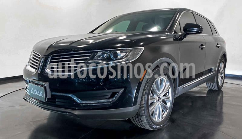 Lincoln MKX 3.5L 4x4  usado (2016) color Negro precio $464,999