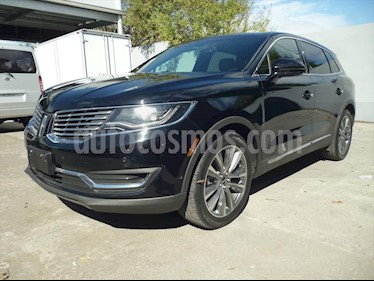 Lincoln MKX RESERVE usado (2017) color Negro precio $505,000