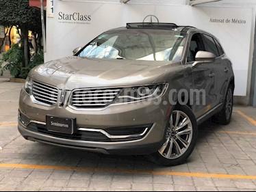 Lincoln MKX 5p Reserve V6/3.5/T Aut AWD usado (2017) color Cafe precio $535,000