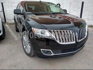 Lincoln MKX 3.7L 4x2 Navegacion usado (2011) color Negro Profundo precio $220,000