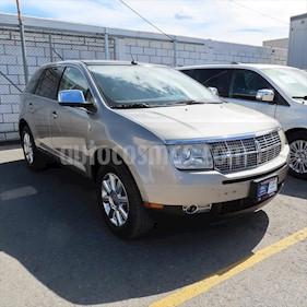 Lincoln MKX 3.5L 4x2 usado (2008) color Plata precio $115,000
